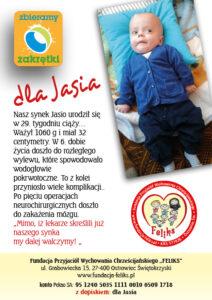 Plakat i ulotk dla Jasia