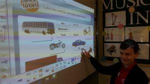 Bezpieczeństwo rowerzysty - zajęcia techniczne z elementami języka angielskiego.