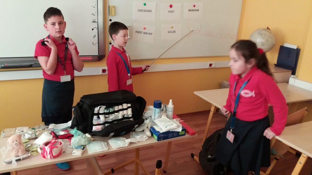 W podróży - zajęcia techniczne z elementami języka angielskiego