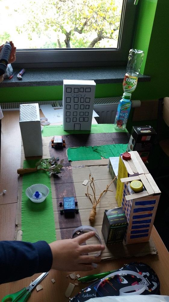 Makieta osiedla – zajęcia techniczne