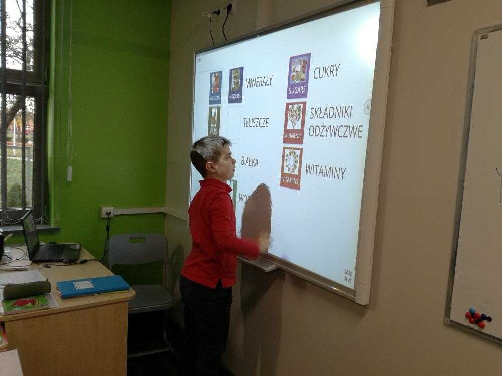 Dwujęzyczność na biologii w klasie V