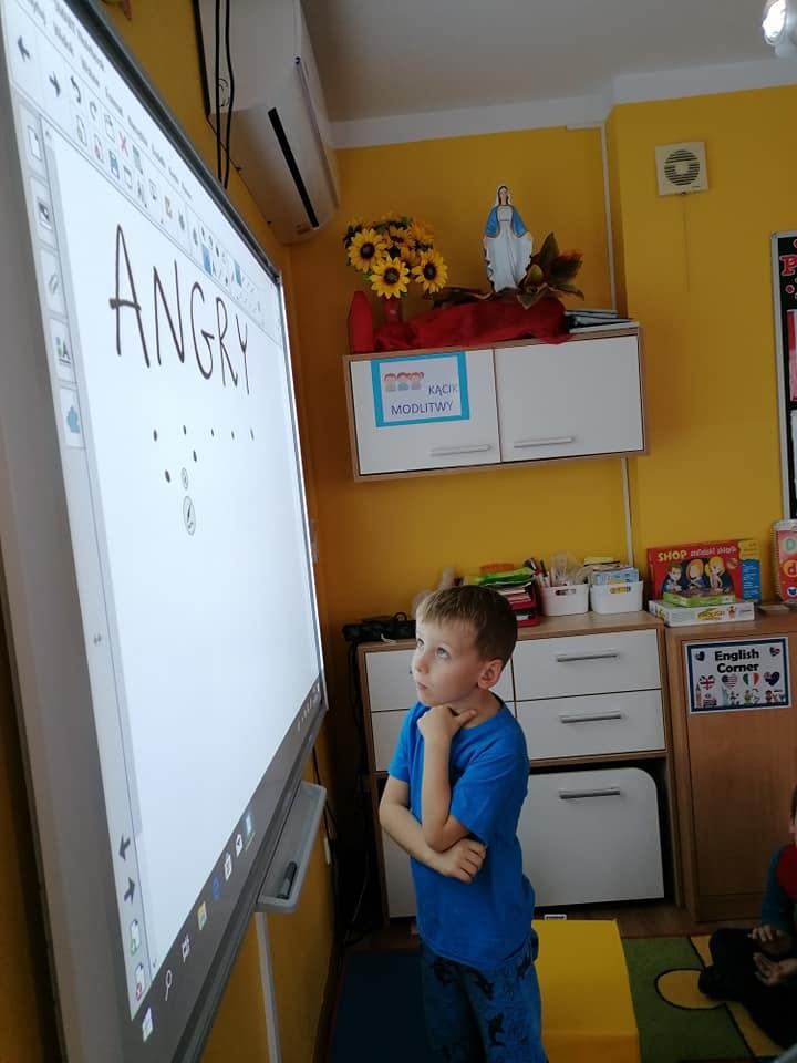 Interaktywne zajęcia z angielskiego