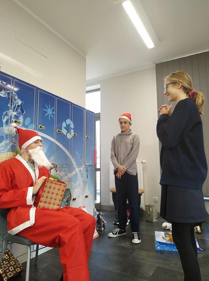 Mikołaj w klasie VIII