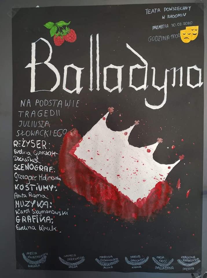 """""""Balladyna""""Juliusza Słowackiego"""