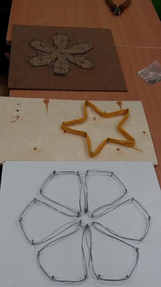 Gwiazda z drucika - projekty praktyczne