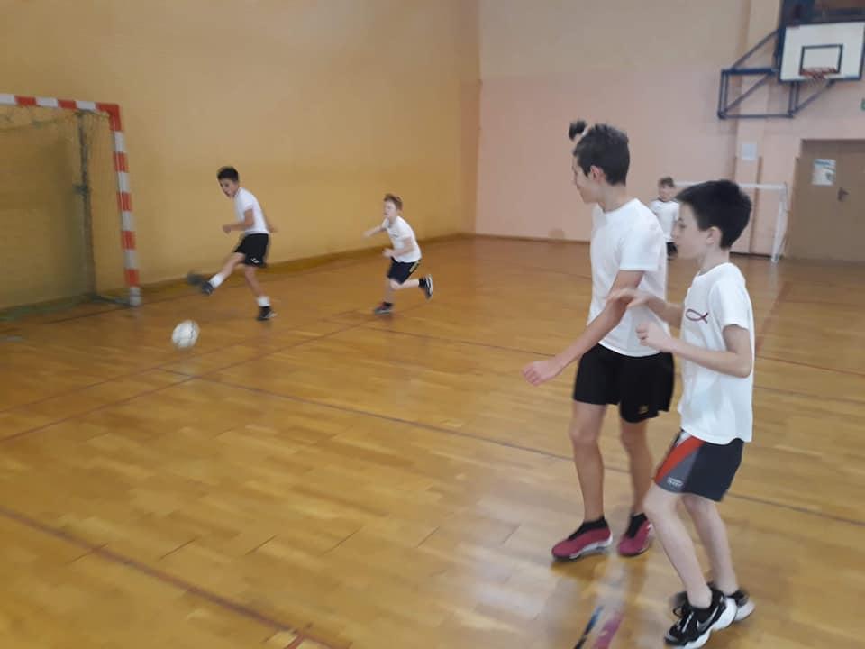 Szkolny turniej piłki nożnej