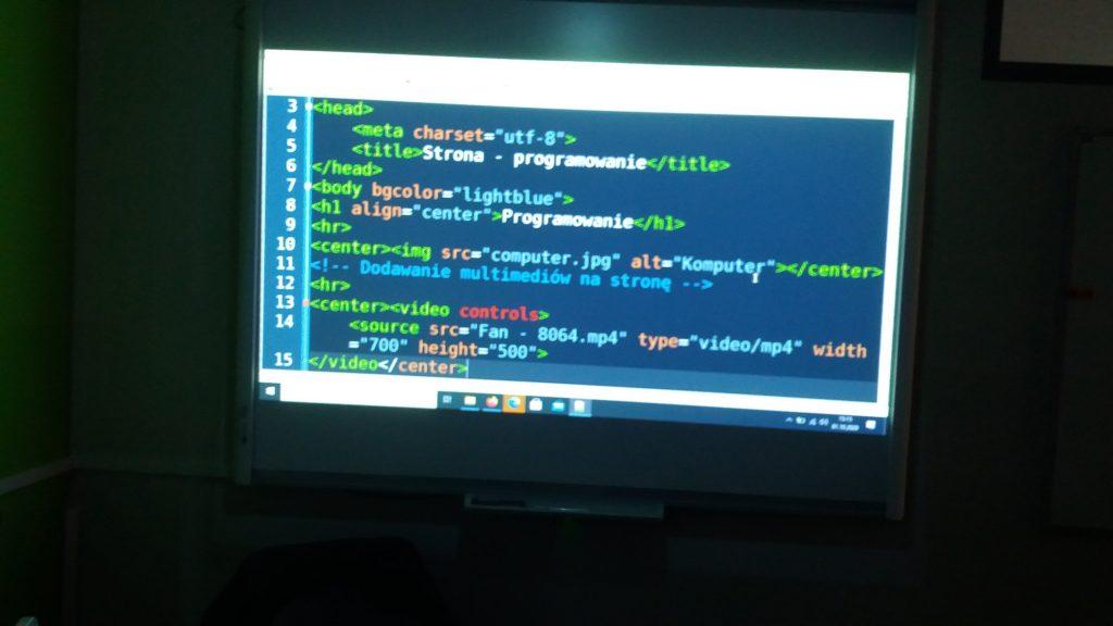 Programowanie witryn i aplikacji